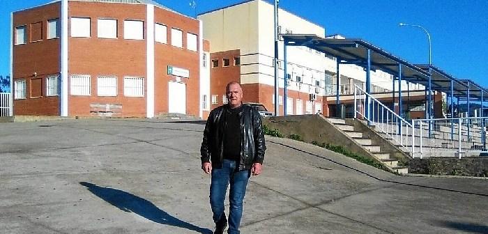 Francisco Moreno Mateo en el IES Vazquez Diaz de Nerva
