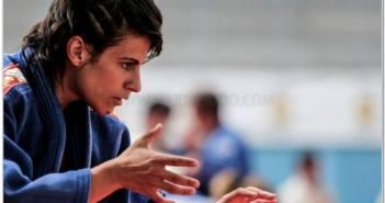 Cinta García en el Grand Prix de Túnez.
