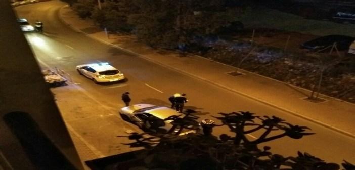 Accidente en pleno centro de Huelva
