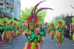 Cabalgata de Carnaval de Punta Umbría (1)