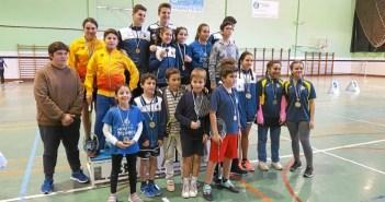 Foto familia 4ª jornada Circuito Provincial de Huelva 2017-2018