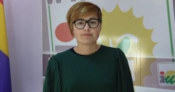 Isabel Lancha, concejala IU en Nerva