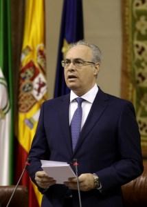 Juan Pablo Durán, presidente del Parlamento de Andalucía