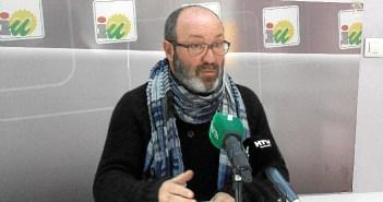 Pedro Jiménez, portavoz IU en Diputación