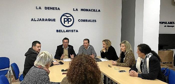Reunión del PP en Aljaraque
