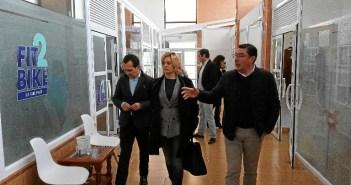 Visita a empresas de San Bartolomé de la Torre (1)