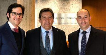 Carlos Hita, Manolo Zambrano y José Antonio García Zambrano.