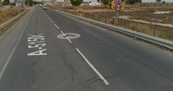 Accidente en Ayamonte