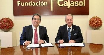Acuerdo Cajasol y Consejo de Hermandades de Huelva (1)