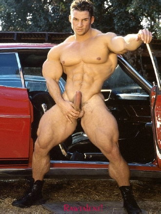hot male muscle morphs