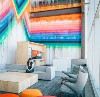 Spaces We Love: Facebooks New CityI Mean Office
