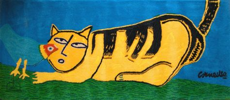 chat jaune (Guillaume Corneille)