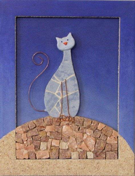 chat mosaique (Severine Peugniez)
