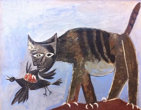le chat de Picasso
