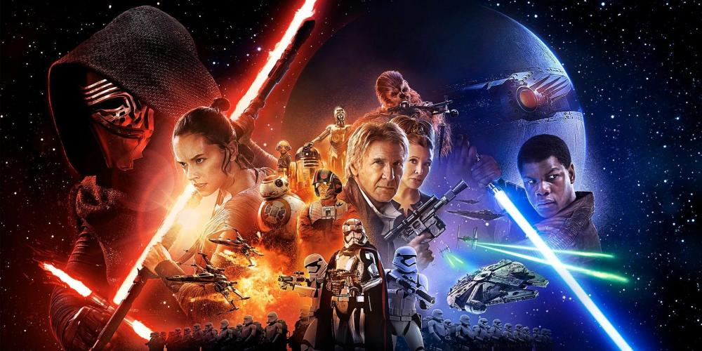 2. Star Wars - The Force Awakens