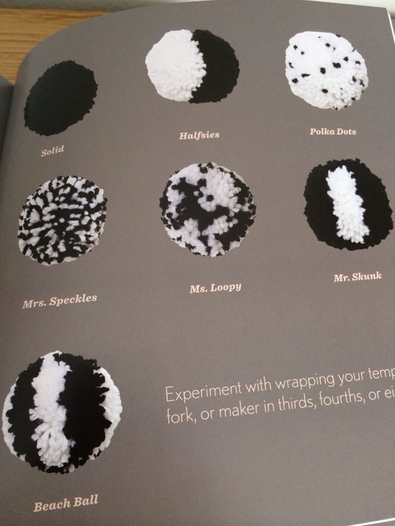 Pom-Poms! 25 Awesomely Fluffy Projects Book Review by Hugs are Fun