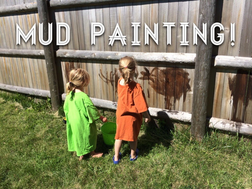 A Muddy Craft Day! from Hugs are Fun