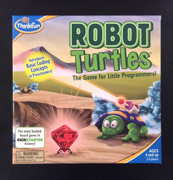 Board Game Review: Robot Turtles from Hugs are Fun