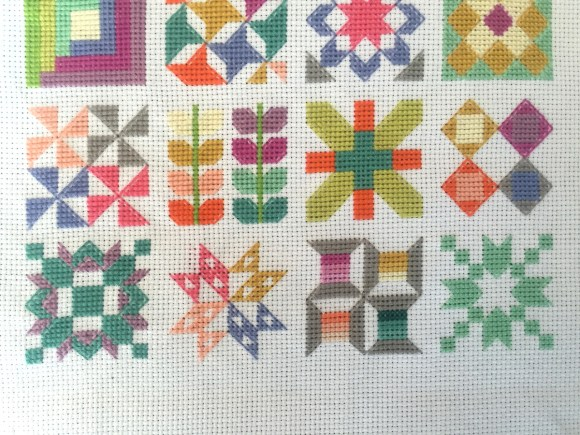 Quilty Stitches Sampler from Hugs are Fun