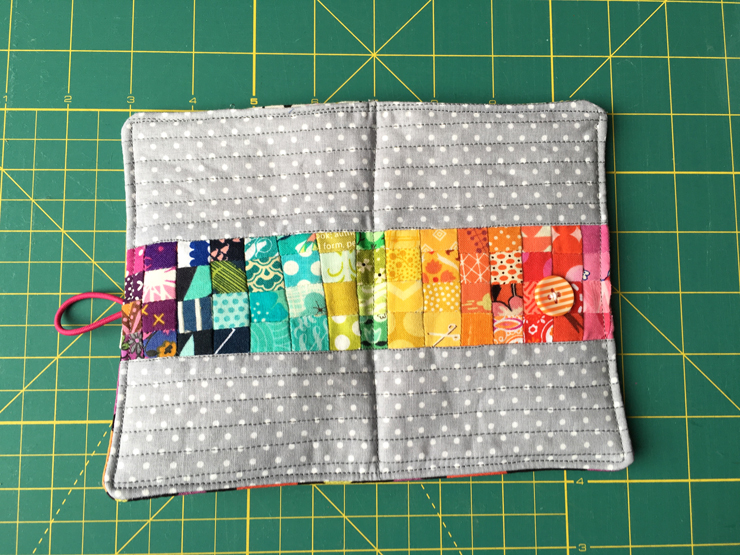 No Scrap Left Behind - Finished Small Project from Hugs are Fun