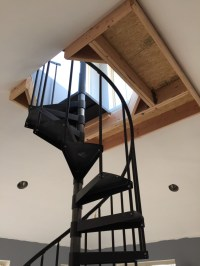 Spiral Staircase Lighting | Lighting Ideas