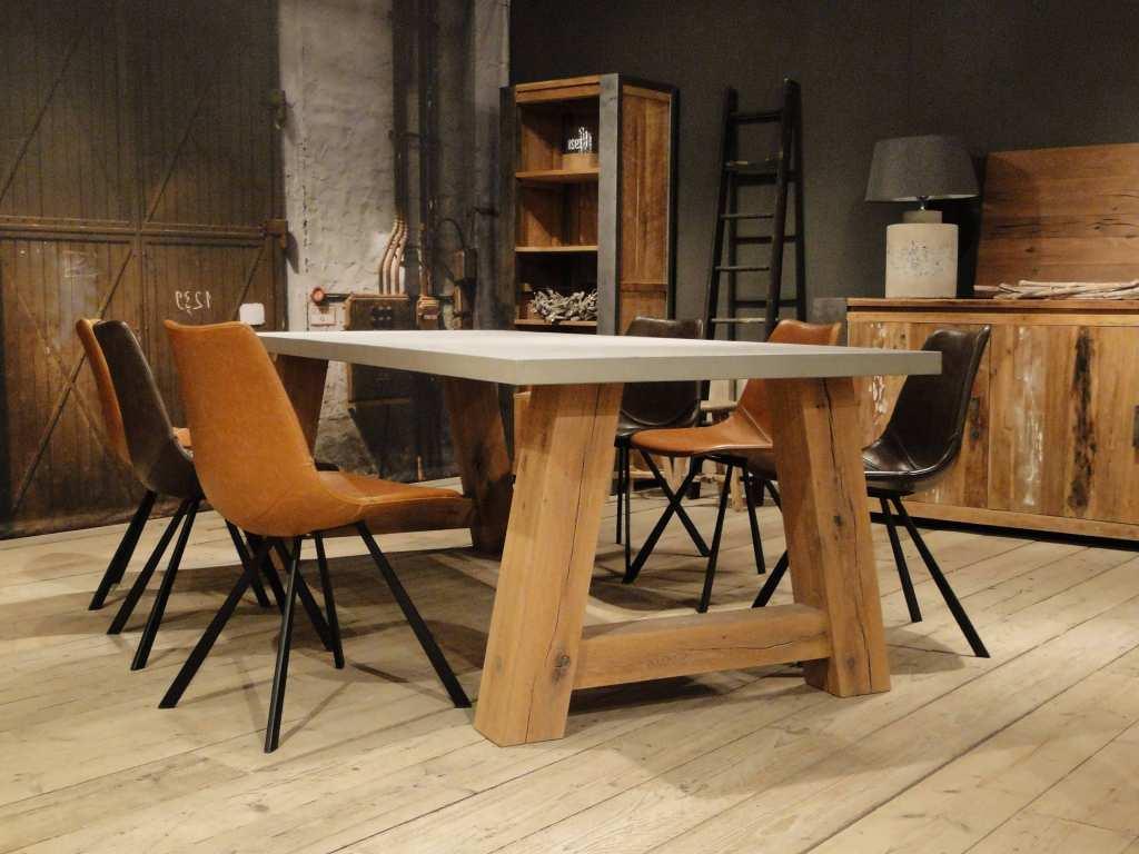 Ikea tafel onderstel maatwerk tafel lino uitvoering eiken ovaal