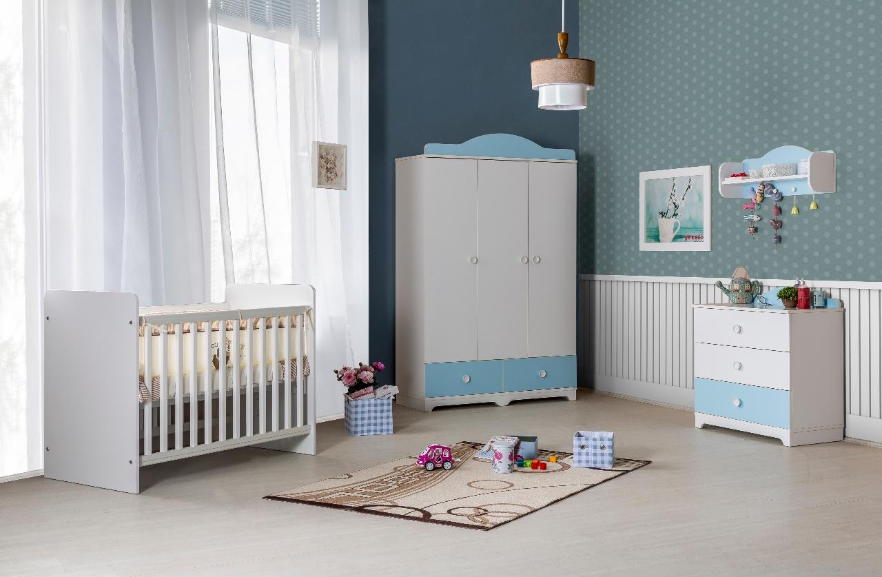 Baby kamer jongen babykamer kleuren kiezen landelijkwonen