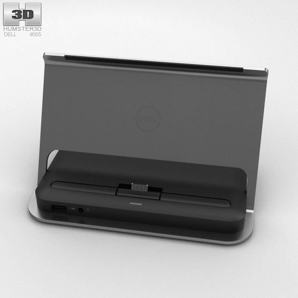 Dell Tablet Dock for Venue 11 Pro 3D model - Electronics on Hum3D