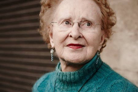 Barbara Beskind, 90, is a designer at IDEO who works with engineers on products that improve the quality of life for older people. Nicolas Zurcher/Courtesy of IDEO