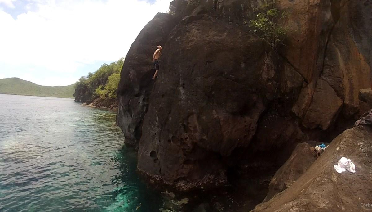 L'Escalade à Madinina - Où la grimpe au dessus des poissons !