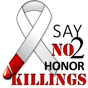 Say NO to Honor Killing badge