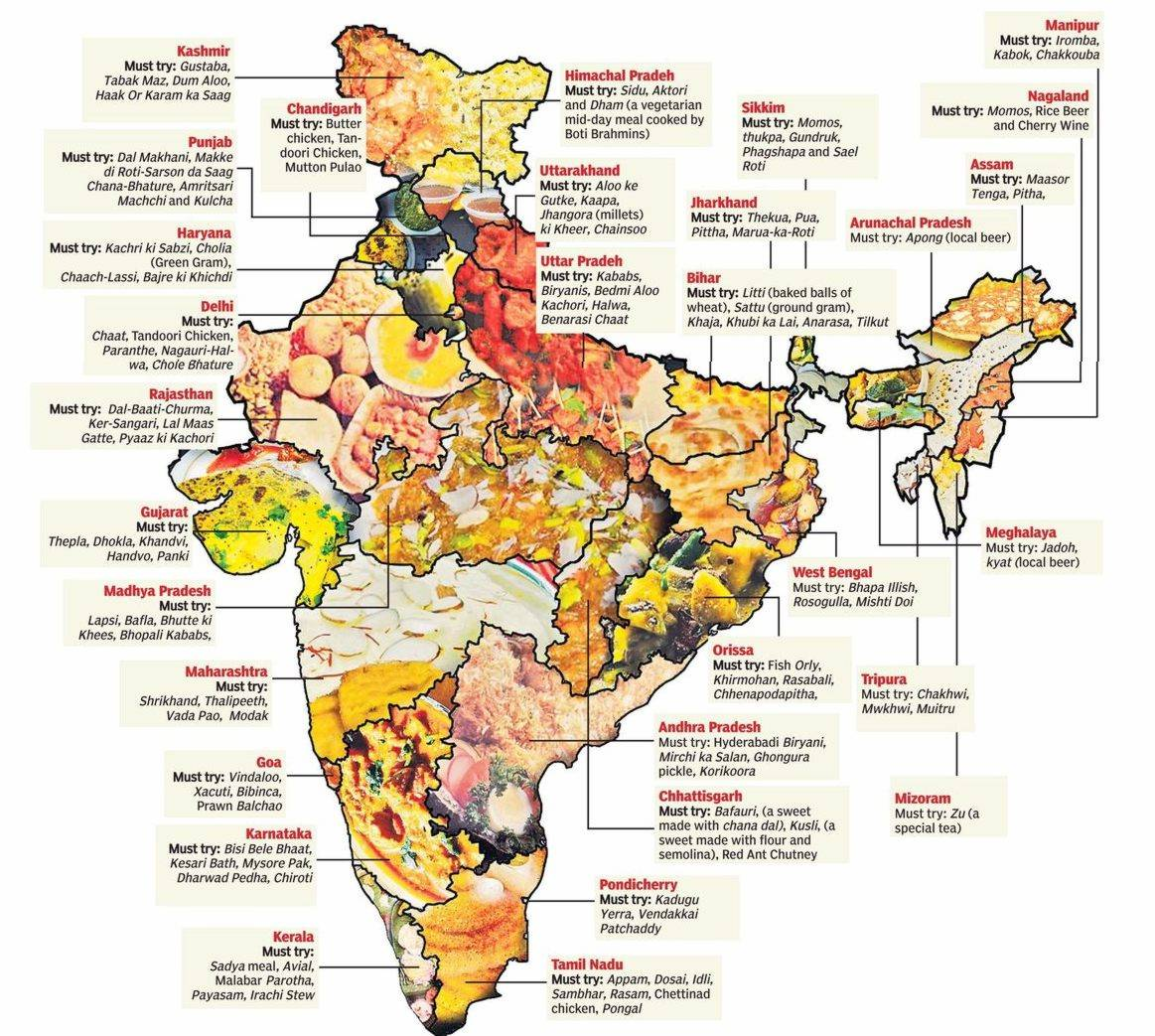 Cuisines Explained Indian Food Diversity Humanium