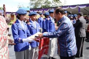 Penerimaan Cpns 2013 Taput  Pengukuhan Siswai Baru Yayasan Soposurung Balige Angkatan Xxiv