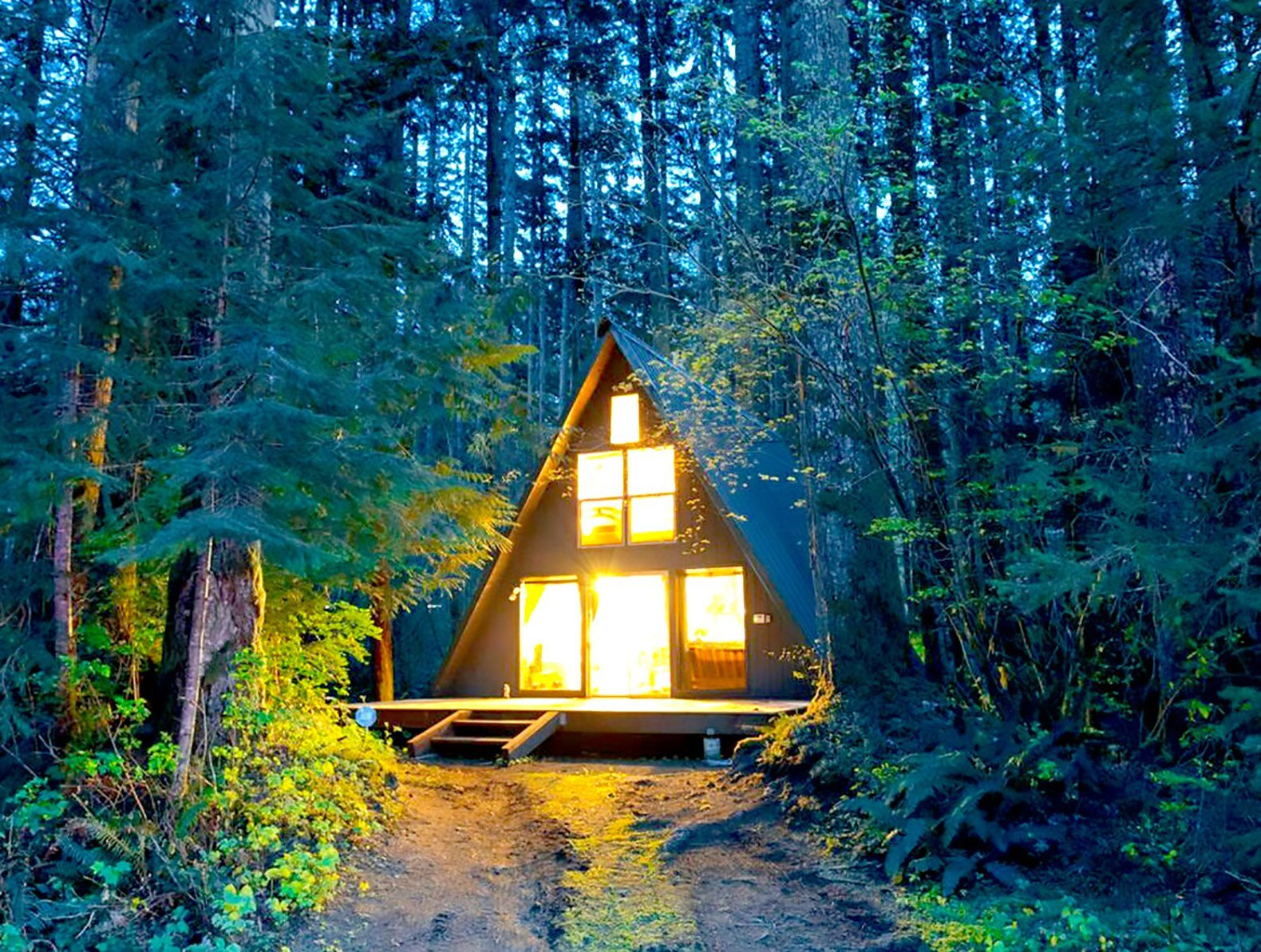 Cottage Haus Tye Haus A Cozy A Frame Cabin Set Among The Woods Of Skykomish