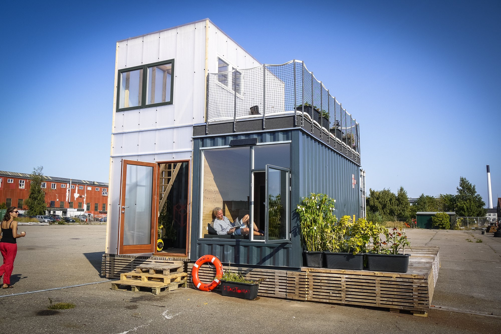 Container Haus Villa A Student Village Made Of Container Homes In Copenhagen By Cph