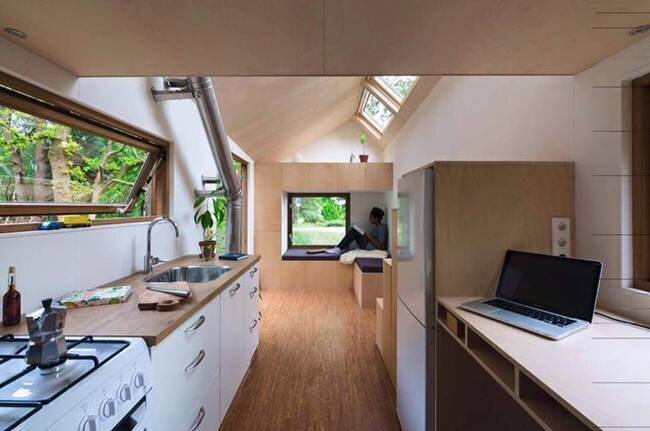 Container Haus Hersteller Berlin Marjolein Jonker's Cool And Calming Contemporary Tiny