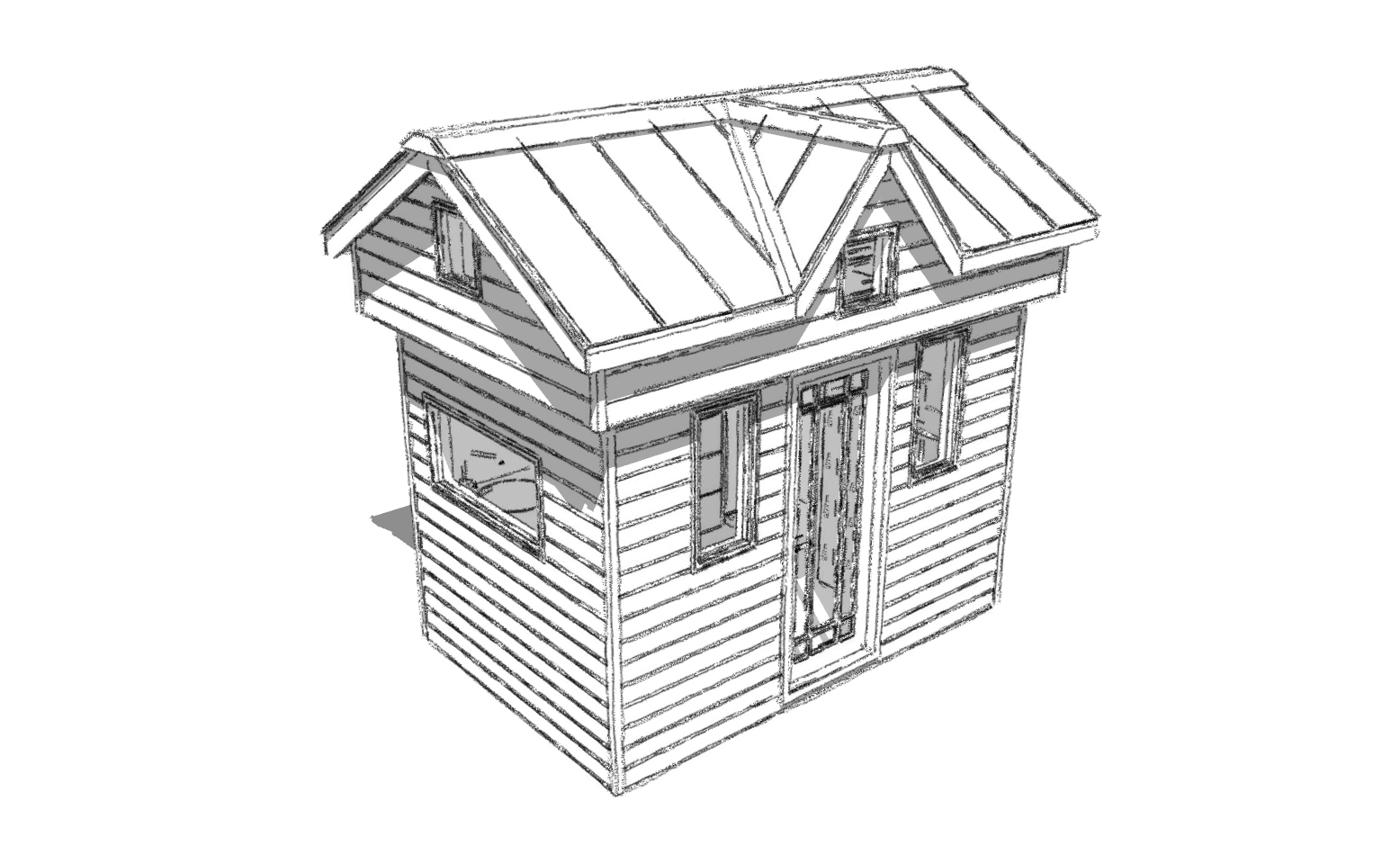Tiny House With Garage Plans The Nook A Tiny House With A Scissor Staircase Humble Homes