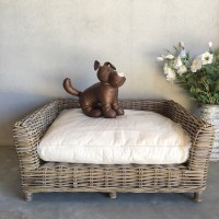 Rattan Dog Bed - Large - Humble Home