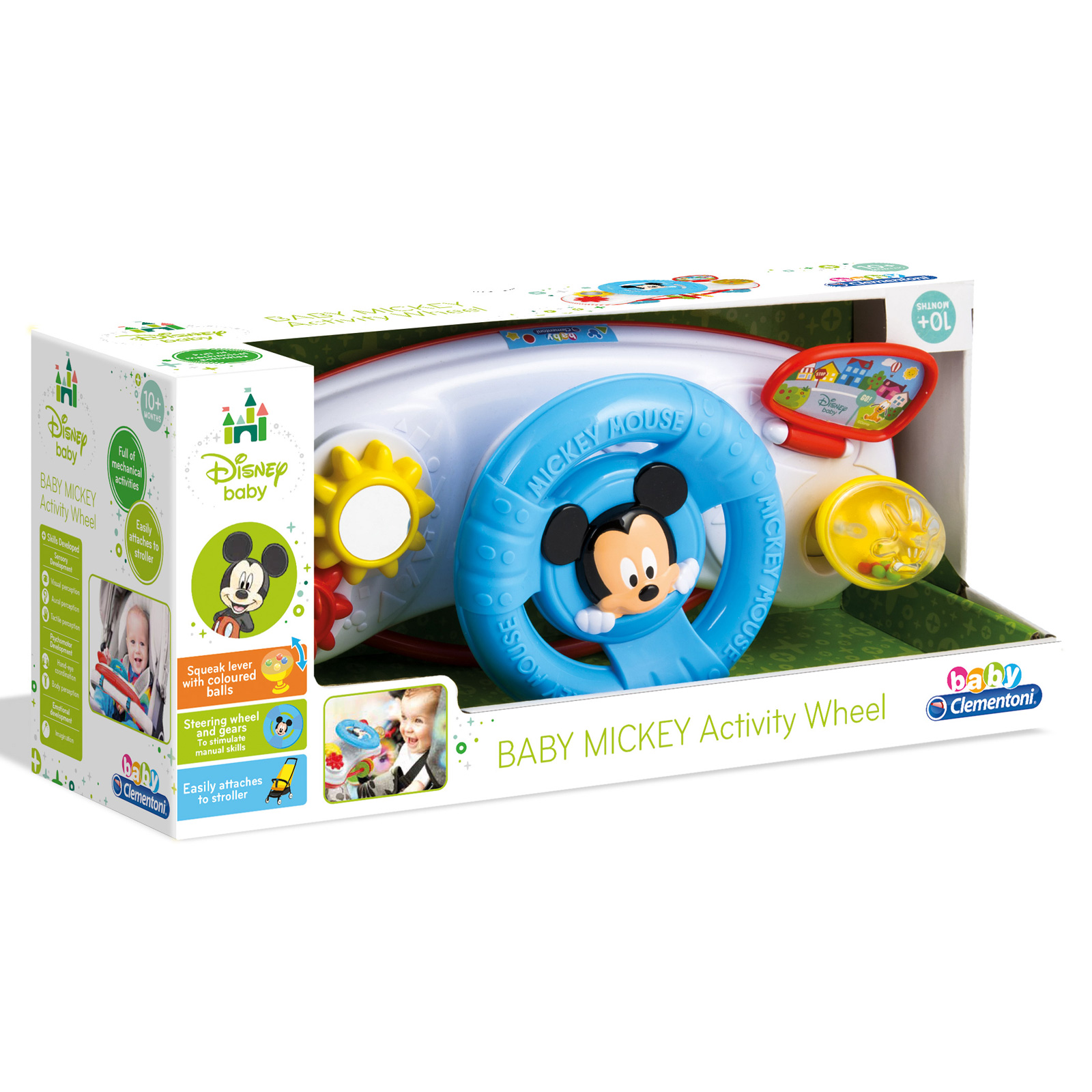 Baby Mickey Mouse Maus Spielzeug Activity Lenkrad Lernspielzeug Babyspielzeug Sonstiges Spielzeug