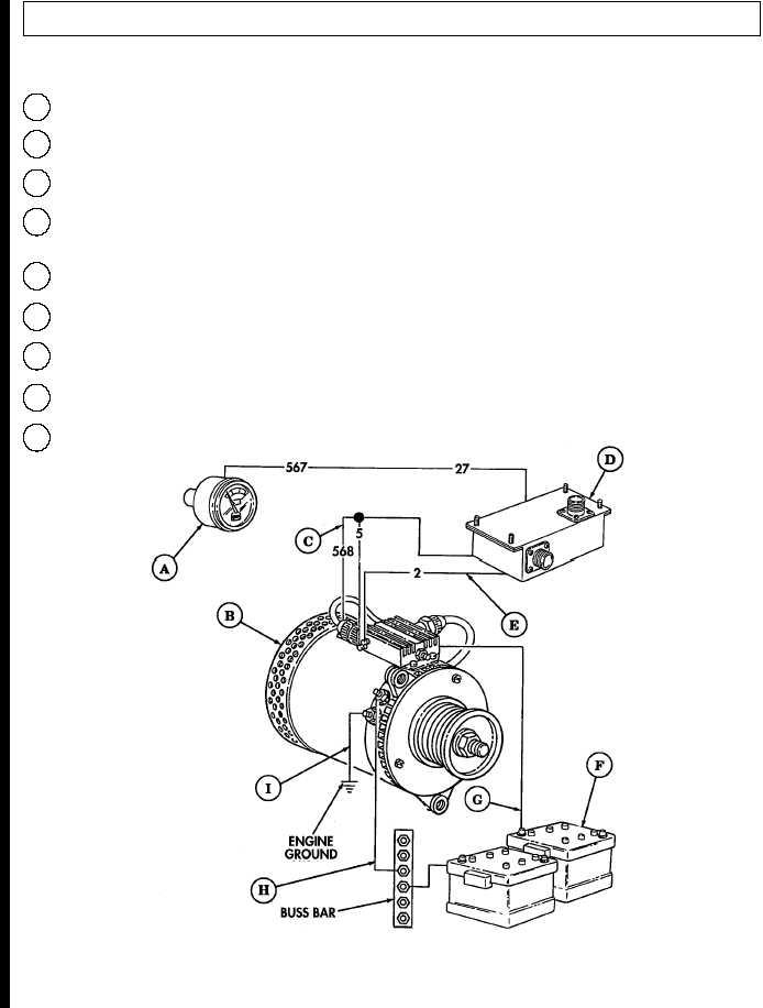 wiring diagram humvee alternator