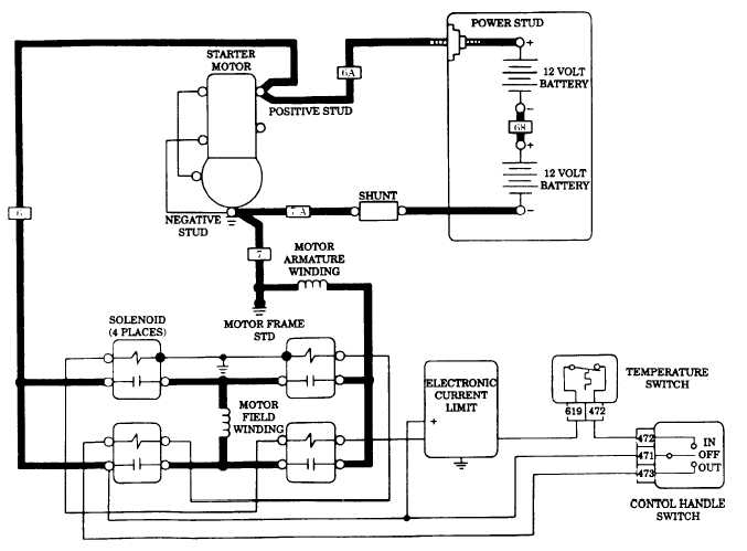 wiring 12 volt dc winch diagram