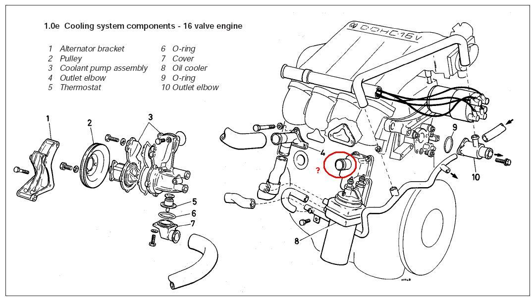 2004 mini cooper s engine diagram
