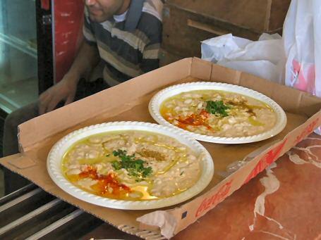 Abu Hassan's Hummus (Mussabeha actually)