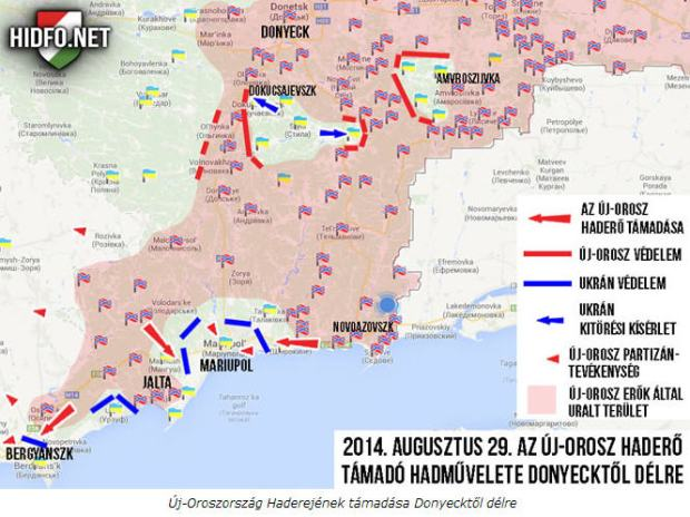 Hídfő is well informed on the exact military situation in Eastern Ukraine