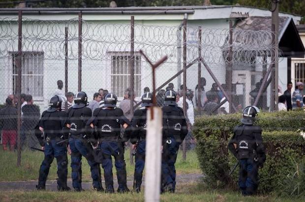 The Debrecen refugee camp in June 2013