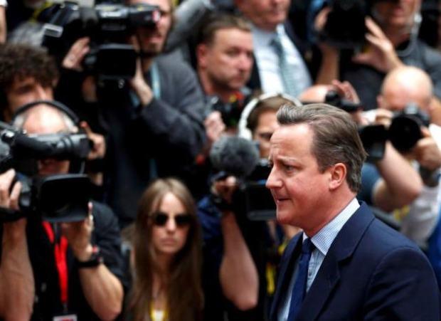 David Cameron arrives today in Brussels / Reuters / Photo: Francois Lenoir