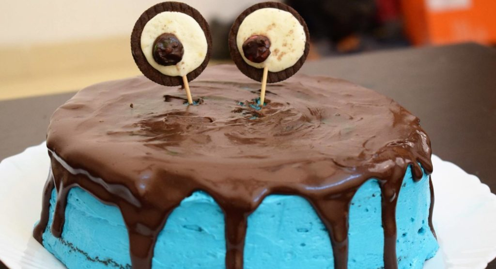 Cookie Monster Cake | The Cutest Monster You Will Ever See | HungryBoo