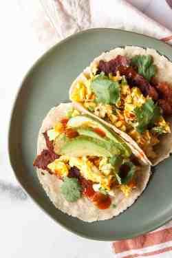 Small Of Breakfast Tacos Recipe