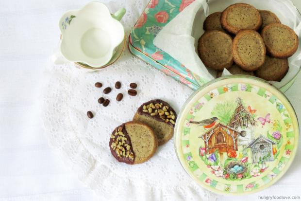 The BEST Coffee Short Bread Cookies