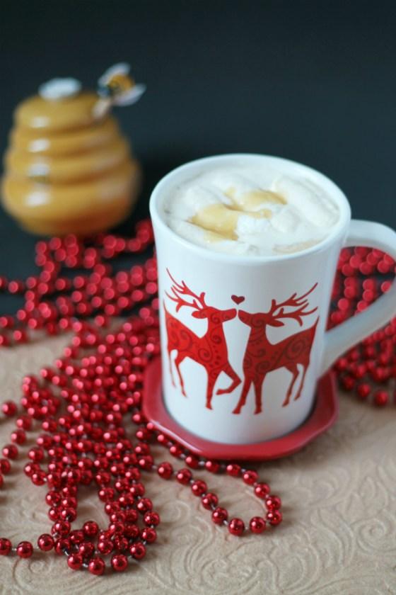 Cafe con Leche y Caramelo de Miel #MielPura